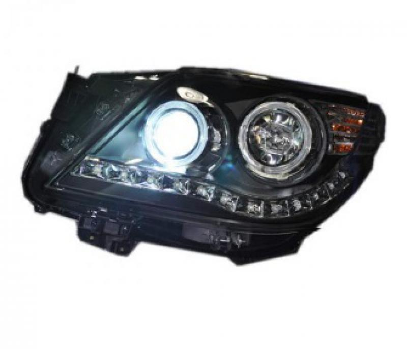 Передняя оптика для Toyota Land Cruiser 08-12 с Ксеноном Angel Eye Projector
