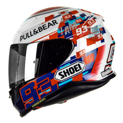 SHOEI Мотошлем NXR MARQUEZ POWER UP!